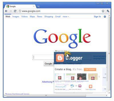 Google Chrome, Internet Explorer