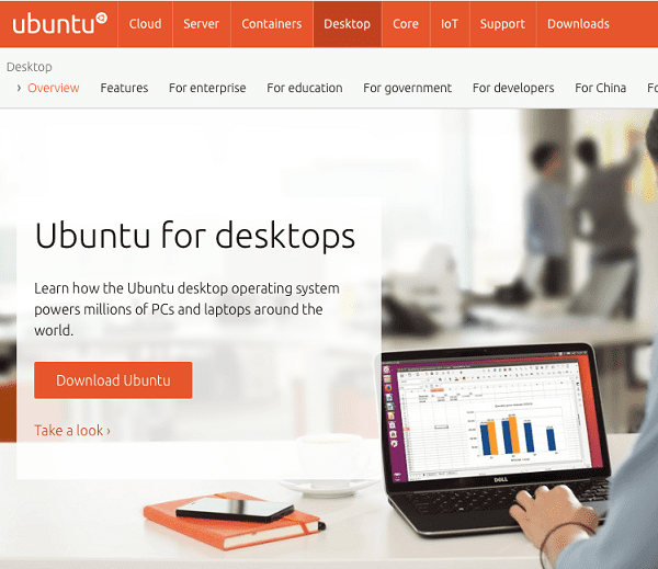 Ubuntu Screenshot