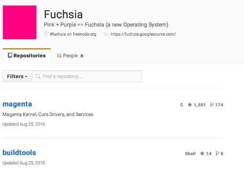 google fuchsia, fuchsia OS