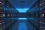 This is a data center where on-premises or cloud data is stored.