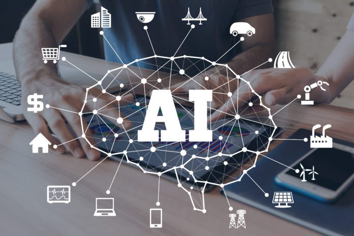 Artificial intelligence (AI) being used to perform a variety of functions across a network.