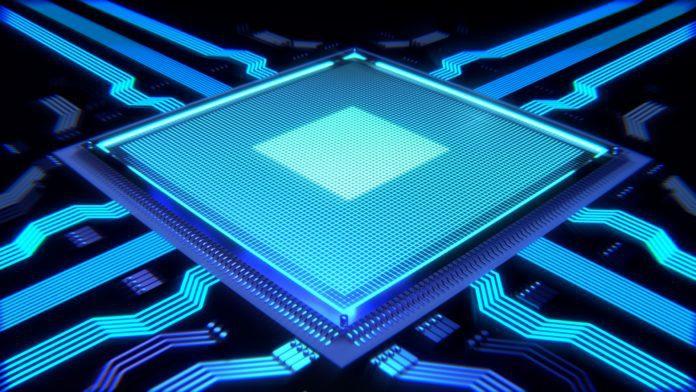 CPU processor visual